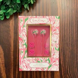 Lilly Pulitzer Ear Buds featured in Pink Colony